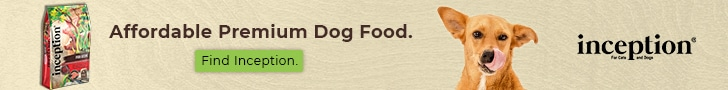 Inception Dog Food Banner 2