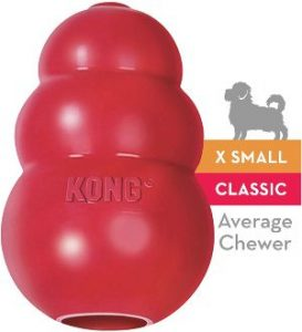 Kong Classic Dog Toy Durable Natural Rubber
