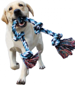 Lechong Dog Rope Toys For Aggressive Chewers Tough Rope Chew Toys For Large And Medium Dog 3 Feet 5
