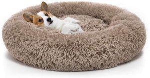 Mixjoy Orthopedic Dog Bed Comfortable Donut Cuddler Round Dog Bed Ultra Soft Washable Dog And Cat Cushion Bed (23'' 30'' 36'')
