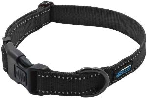 Max And Neo Neo Nylon Buckle Reflective Dog Collar We Donate A Collar To A Dog Rescue For Every