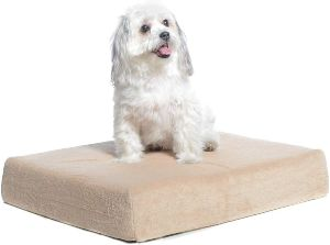 Milliard Premium Orthopedic Memory Foam Dog Bed With Anti Microbial Removable Waterproof Washable N