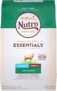 Nutro Wholesome Essentials Adult Large Breed Natural Dry Dog Food Lamb & Rice Recipe