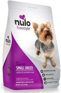 Nulo Small Breed Grain Free Dry Dog Food With Bc30 Probiotic, Salmon & Red Lentils Recipe 4.5 Or 11 Lb Bag