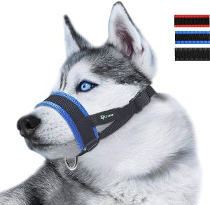 Nylon Dog Muzzle For Small,medium,large Dogs Prevent From Biting,barking And Chewing,adjustable Loop (2)