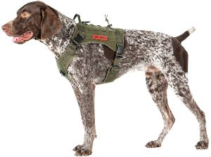 Onetigris Tactical Dog Harness Fire Watcher Comfortable Patrol K9 Vest