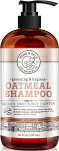 Paws & Pals 5 In 1 Oatmeal Dog Shampoo, Conditions, Detangles, Moisturizes, Anti Itch, Odor Control