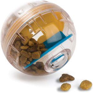 Pet Zone Iq Treat Ball – Adjustable Dog Treat Ball (slow Feeder, Dog Puzzle Toy, Treat Dispensing To
