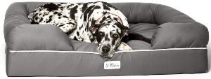 Petfusion Ultimate Dog Bed, Orthopedic Memory Foam,