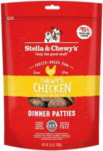 Stella & Chewy's Freeze Dried Raw Dandy Lamb Dinner Patties Grain Free Dog Food,