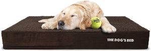 The Dog's Bed Orthopedic Dog Bed, Premium Memory Foam S Xxxl, Waterproof, Dog Pain Relief For Arthritis, Hip & Elbow Dysplasia, Post Surgery, Lameness, Senior Supportive, Calming Bed, Washable Cover
