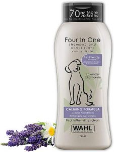 Wahl 4 In 1 Calming Pet Shampo