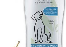 Wahl White Pear Brightening Shampoo For Pets – Whitening & Animal Odor Control With Silky Smooth Results For Grooming Dirty Dogs – 24 Oz