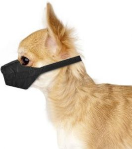 Weebo Pets Breathable Nylon Cloth Safety Muzzle (1)