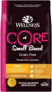 Wellness Core Natural Grain Free Dry Dog Food Small Breed Puppy