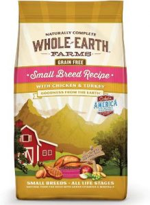 Whole Earth Farms Grain Free Small Breed Recipe With Chicken & Turkey Dry Dog Food, 12 Lbs