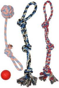 Xl Dog Rope Toys For Aggressive Chewers Large Dog Ball For Large And Medium Dogs
