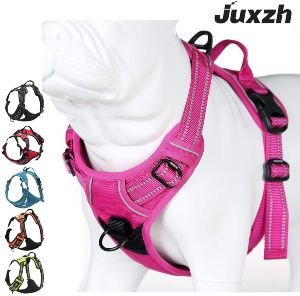 Juxzh Truelove Soft Front Dog Harness .best Reflective No Pull Harness With Handle And 2 Leash Attachmentsp B073trq42j Tag=dogproductpic 20