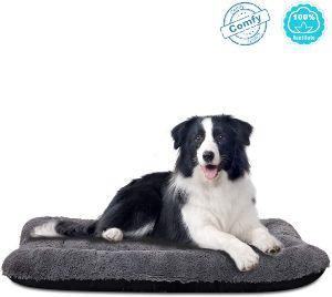 Anwa Dog Bed Medium Size Dogs, Washable Dog Crate Bed Cushion, Dog Crate Pad Large Dogs