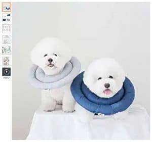 Arrr Dog Comfy Cone, Soft Recovery Collar After Surgery, Waterproof Pet Cone For Dogs And Cats