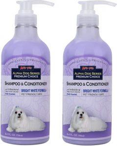 All Natural, Hypoallergenic Whitening Shampoo + Conditioner With Aloe Vera Antibacterial Ph Ba