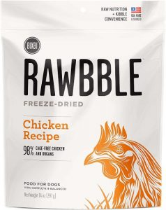 Bixbi Rawbble Chicken, 14 Ounce