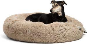 Best Friends By Sheri The Original Calming Shag Vegan Fur Donut Cuddler (multiple Sizes) (1)