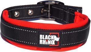 Black Rhino Durable Dog Collar