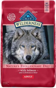 Blue Buffalo Wilderness High Protein Grain Free, Natural Adult Dry Dog Food