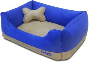Blueberry Pet Heavy Duty Pet Bed Or Bed Cover, Removable & Washable Cover W Ykk Zippers, Shop A Whol