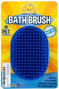 Bodhi Dog New Grooming Pet Shampoo Brush Soothing Massage Rubber Bristles Curry Comb For Dogs & Ca