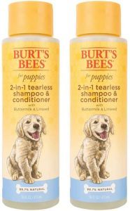 Burt's Bees For Puppies Tearless 2 In 1 Shampoo And Conditioner