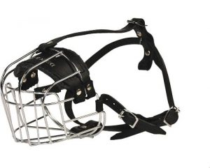 Dean And Tyler Wire Basket Muzzle, Size No. R3 Large Rottweiler