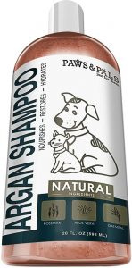 Dog Argan Shampoo Conditioner 20oz Clinical Vet Formula Wash For All Pets Puppy & Cats Made Wit