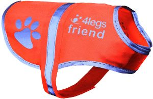 Dog Safety Reflective Vest 5 Sizes To Fit Dogs 10 Lbs 130 Lbs High Visibility For Outdoor Activit