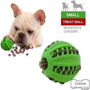 Eetoys Iq Dog Treat Ball – Interactive Treat Dispensing Dog Toy Non Toxic Rubber Dog Ball Slow Feedi