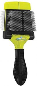Furminator Firm Grooming Slicker Brush For Clean Healthy Coats
