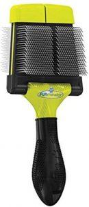 FURminator Firm Slicker Brush For Dogs