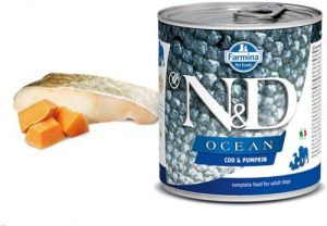 Farmina Natural & Delicious Ocean Canine Codfish & Pumpkin 6 10.05 Oz
