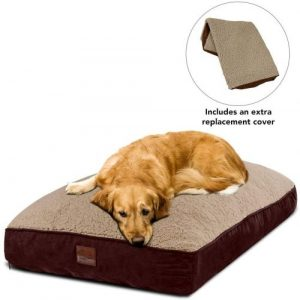 Floppy Dawg Interchangeable 2 In 1 Dog Bed. Includes Two Removable Machine Washable Covers And Water