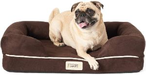 Friends Forever Orthopedic Dog Bed Lounge Sofa Removable Cover 100% Suede 2.5 5 Mattress Memory Fo (1)