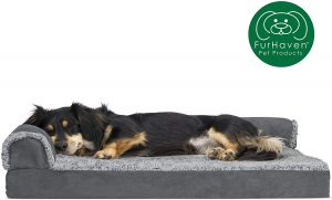 Furhaven Ergonomic Dog Bed