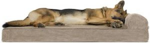 Furhaven Pet Dog Bed Therapeutic Traditional Sofa Style Deluxe & Goliath Chaise Living Room Couch