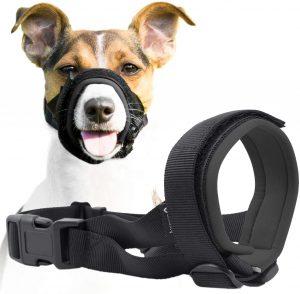 Gentle Neoprene Muzzle Guard For Dogs