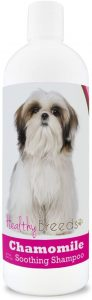 Healthy Breeds Chamomile Oatmeal & Aloe Soothing Shampoo & Conditioner Over 200 Breeds Safe With