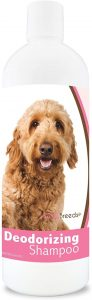Healthy Breeds Dog Deodorizing Shampoo Sweet Pea & Vanilla Scent Hypoallergenic And Ph Balanced