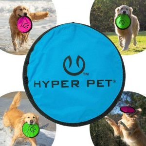 Hyper Pet Flippy Flopper Dog Frisbee Interactive Dog Toys [flying Disc Dog Fetch Toy – Floats In Wat