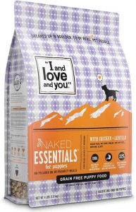 I And Love And You Naked Essentials Dry Puppy Food Natural Grain Free Kibble, Prebiotics & Prob