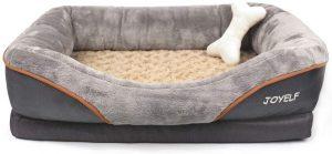 Joyelf Orthopedic Dog Memory Foam Bed