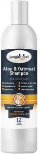 Jungle Pet Aloe & Oatmeal Shampoo Soothing, Moisturizing, Nourishing With Aloe Vera Soap Free P